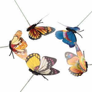 Decorative Yard Butterflies - Pack of 15