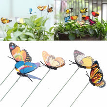 Load image into Gallery viewer, Decorative Yard Butterflies - Pack of 15