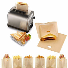 Load image into Gallery viewer, Reusable Toaster Heater-Upper Bags (Pack of 2)