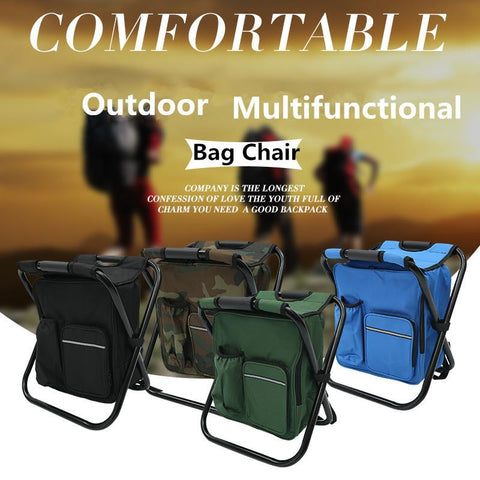 Image 3 for cooler chair backpack