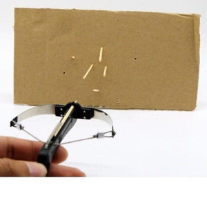 Toothpick-Shooting Tiny Crossbow - The Gear Gods