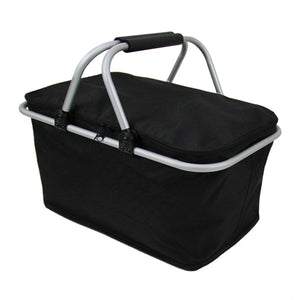 Picnic Basket Cooler - Folds Flat! - The Gear Gods