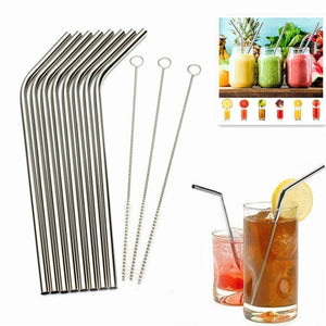 Stainless Steel Drinking Straws - The Gear Gods