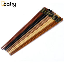 Load image into Gallery viewer, Natural Beech Wood Chopsticks - The Gear Gods