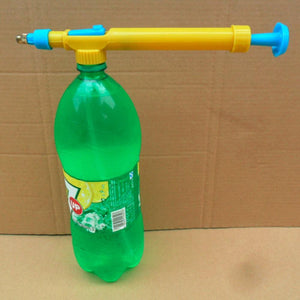 Convert Any Bottle To A Water Gun!