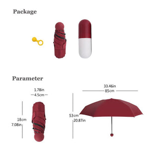 Tiny Pocket Umbrella - The Gear Gods