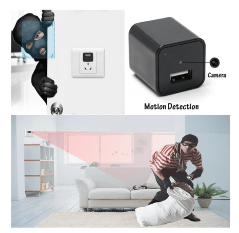 USB Wall Charger Spy Camera