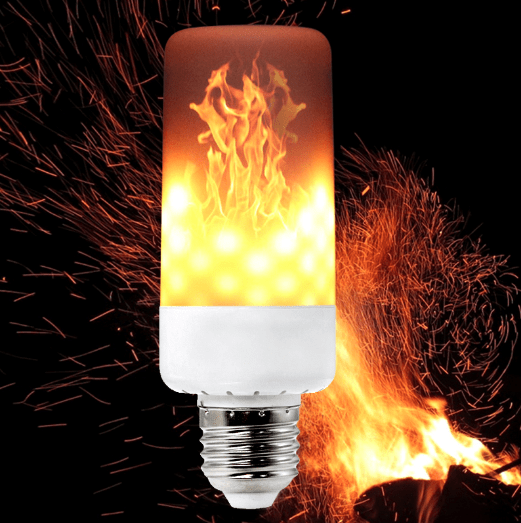 LED Fire Light Bulbs - The Gear Gods
