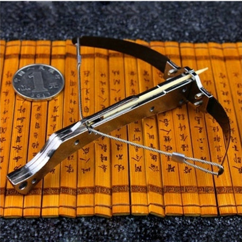 Toothpick Shooting Tiny Crossbow