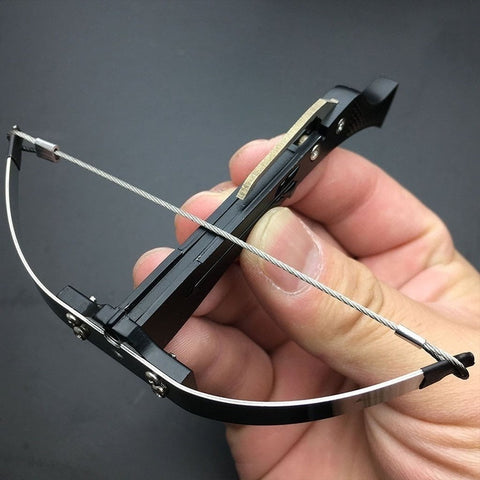 Toothpick-Shooting Tiny Crossbow