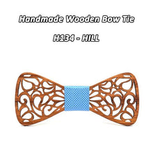 Load image into Gallery viewer, Real Wooden Bowtie