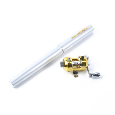 Image of Image of silver Mini Fishing Rod