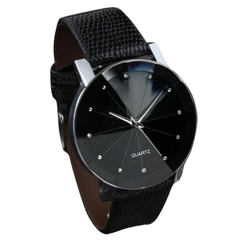 Luxury Brand Leather Stainless Steel Men Sports Watch