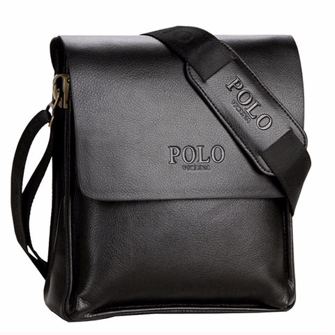 POLO Leather Cross body Business bag free shipping