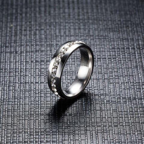 Model Design Stainless Steel Cubic Ring for Men and Women free shipping