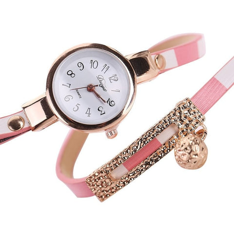 Relogio Leather Brand Women Watch free shipping
