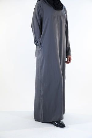 Charcoal Grey - Closed Abaya