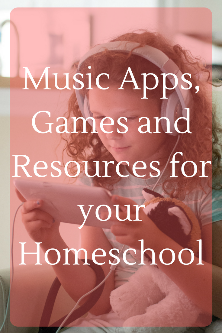 Want to add more musical games, apps and resources to your homeschool but don't know where to look? We will point you in the right direction with this guide!