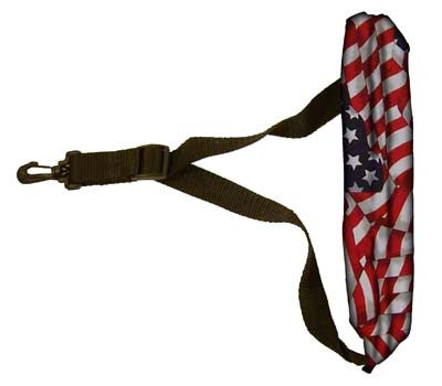 Padded Sax Strap - American Flag