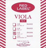 Red Label Viola String Sets