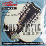 Alice 12 String Acoustic Guitar String Set (Light)