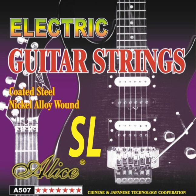Alice Steel Nickel Electric Guitar Strings (Super Light)