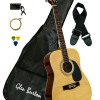 Glen Burton Dreadnought Acoustic Guitar Combo