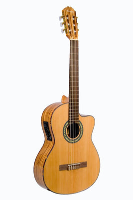 Huntington Classical Cutaway Acoustic Electric Guitar