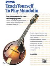 Alfred's Teach Yourself to Play Mandolin
