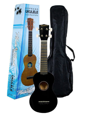 Hula Beach Soprano Ukulele with Gig Bag