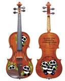 Panda Bear Violin (2 Sided)