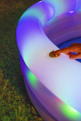Poolcandy Sunning Pool Illuminated LED Sunning Pool 60 x 15""