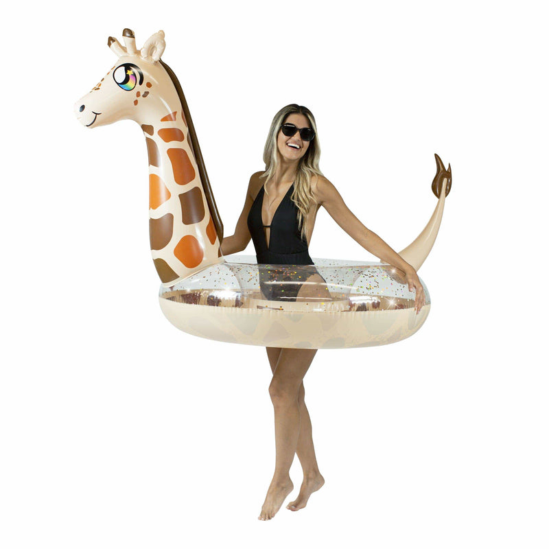 PoolCandy Jumbo Animal Pool Tube, Giraffe - PoolCandy