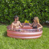 PoolCandy Rose Gold Glitter Sunning Pool - PoolCandy