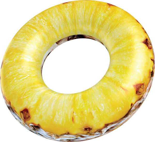 RealPrint Pineapple | Pool Tube - PoolCandy