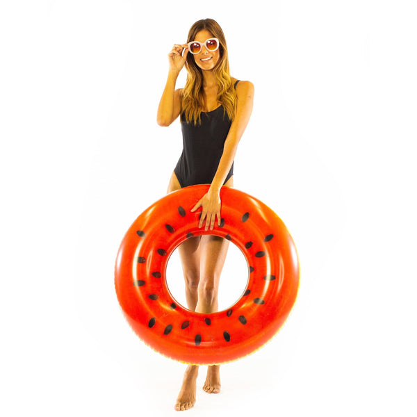 RealPrint Watermelon | Pool Tube - PoolCandy