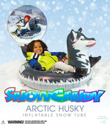 SNOWCANDY Artic Husky Inflatable Snow Tube - PoolCandy