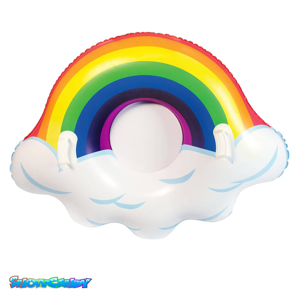 "SNOWCANDY Snow Tube 48"" Arctic Rainbow - PoolCandy"
