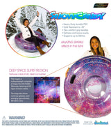 "SNOWCANDY Snow Tube 48"" Galaxy Glitter - PoolCandy"