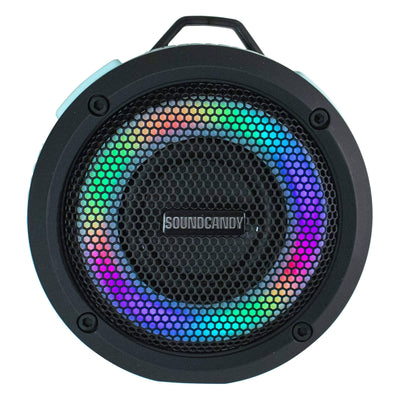 SoundCandy Speaker SoundCandy Aqua Splash 5.0  Waterproof Floating Color Changing Light Show Speaker