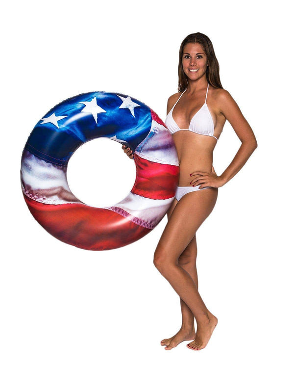 "Stars & Stripes | 36"" Pool Tube - PoolCandy"