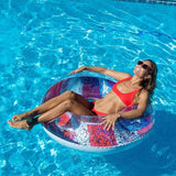 "PoolCandy Stars & Stripes 48"" Jumbo Glitter Pool Tube"