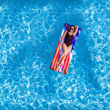 "PoolCandy Stars & Stripes Deluxe Pool Raft - 74 x 30"" by PoolCandy"