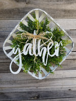 Gather Basket Arrangement  - Farmhouse Florals