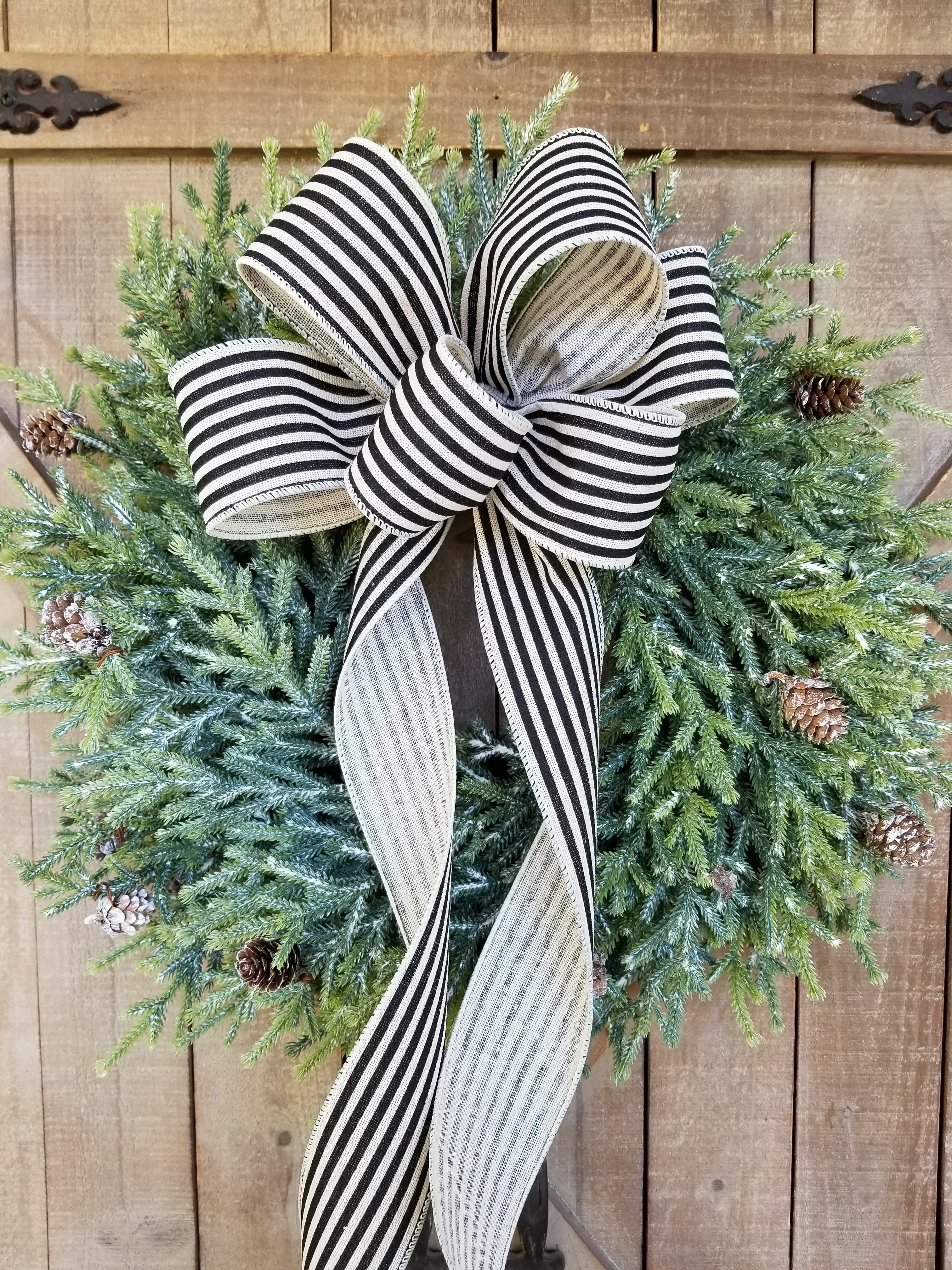 Farmhouse Pine Christmas Wreath