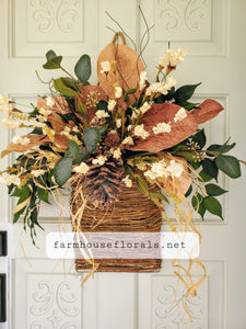 Magnolia Fall Front Door Hanger