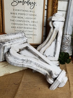 Farmhouse Style Wood Corbels