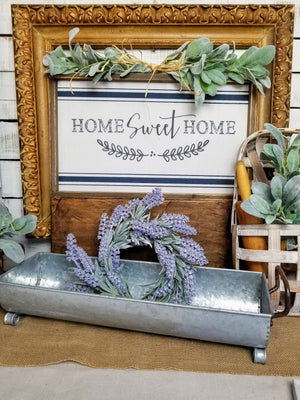 Galvanized Farmhouse Trough / Tray