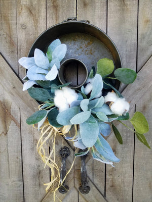 Lambs Ear Vintage Arrangement