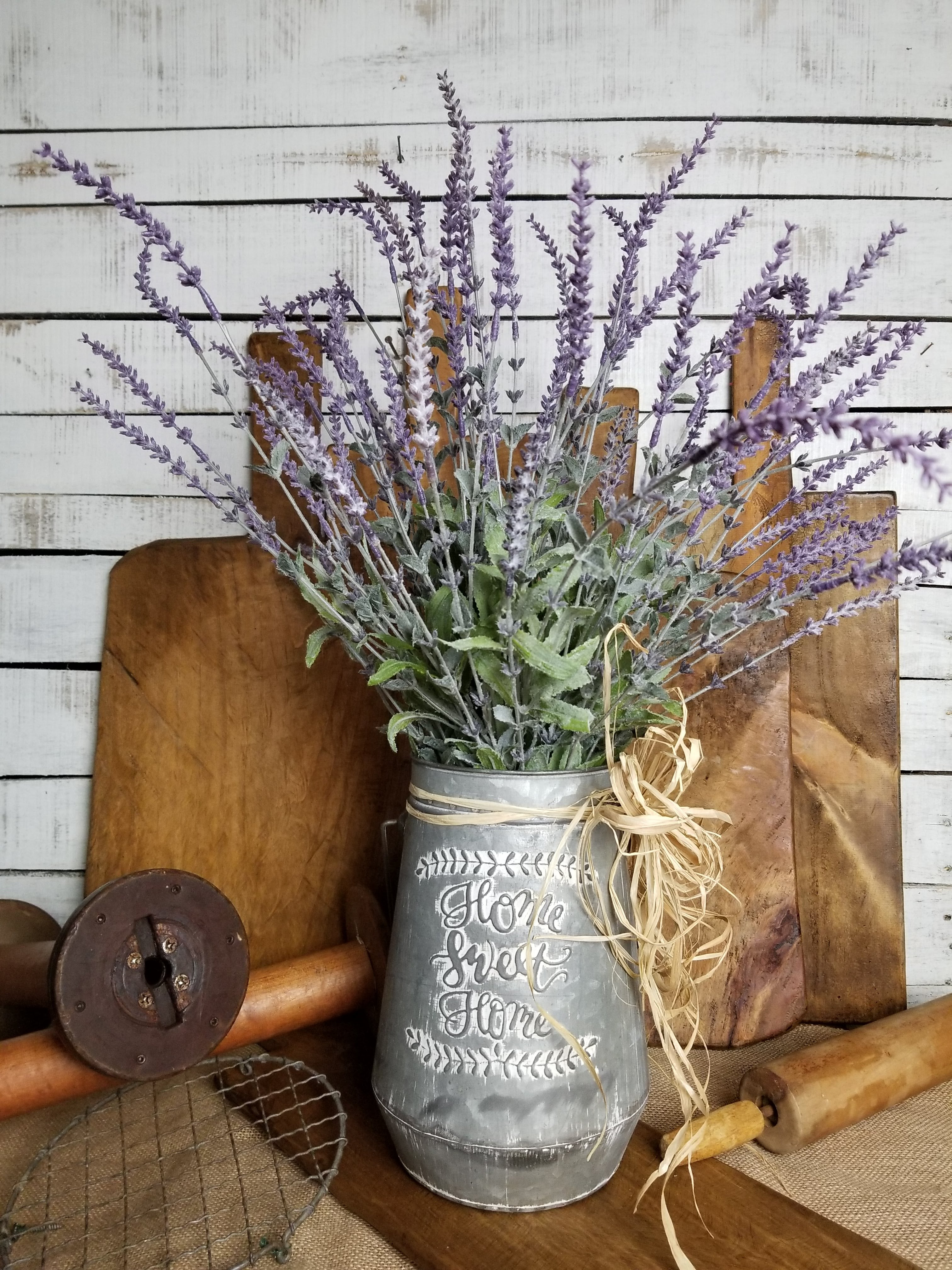 Farmhouse Style Home Sweet Home Floral Arrangement